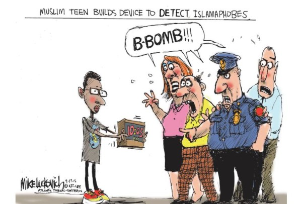 Muslim teen builds device to detect islamophobes