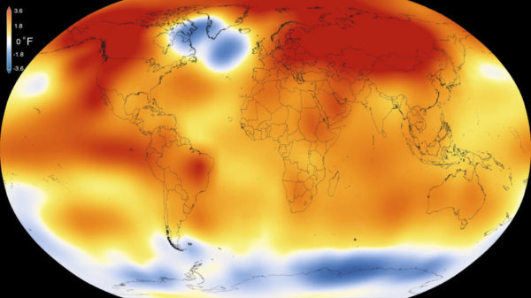 Record breaking global temperatures for 2015 as reported by NASA. Source: http://www.nasa.gov/press-release/nasa-noaa-analyses-reveal-record-shattering-global-warm-temperatures-in-2015
